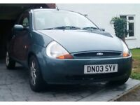 FORD KA, NEGOTIATIONS CAN BE MADE IF NEEDED, GREAT CONDITION, LOOKING TO SELL QUICKLY.