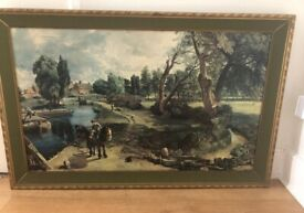 Constable print