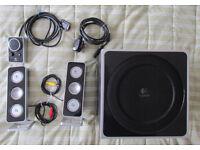 Logitech Z4 2.1 speaker system, 80W