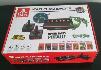 Atari Flashback 9 with SD card over 1000 games!!!!