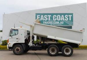 HINO FM8J ** TIPPER ** AUTOMATIC ** 6X4 **  #5086 Archerfield Brisbane South West Preview
