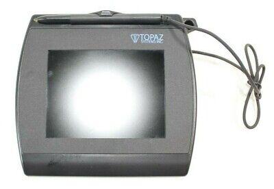 Topaz Signature Capture Pad Bsb Siggem Color Usb 5.7 T-lbk57gb-bb247-r