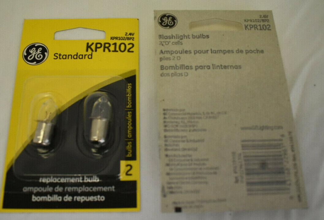GE KPR102 2w B3.5 Bulb