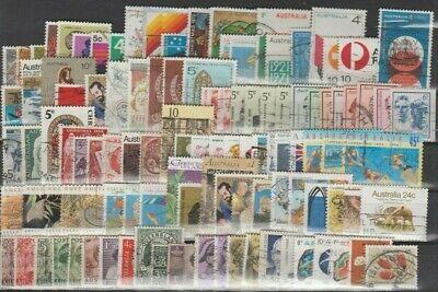 Australie, Australia, Lot de timbres oblitérés, bien