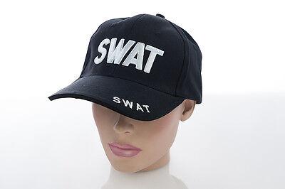 NEU US SWAT Police SEK MEK Cap Mütze Basecap Baseballcap BB Baseball mit Stick