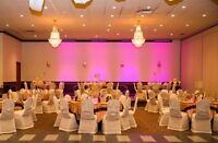 0.89 cents chair cover rental