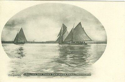 Tacoma Wa Sailing Off Point Defiance