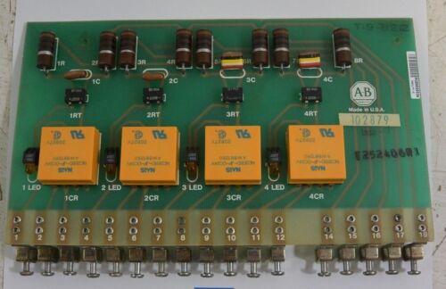 ALLEN BRADLEY 102879 Printed Circuit Board - USED