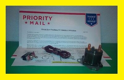Made in USA - Ford Diesel Glow Plug Relay AND Manual switch 1983-2003 6.9 &