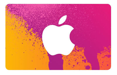 Apple ITunes 10 Gift Card Physical  - $8.50