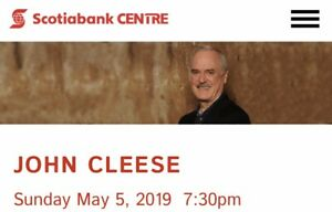 2 Comedian John Cleese Tickets May 5/19