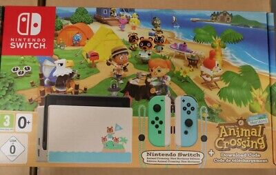 Nintendo Switch Animal Crossing: New Horizons Console Bundle * NEW & SEALED *