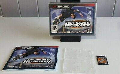 Tony Hawk's Pro Skater Nokia N Gage Game Boxed with Manual