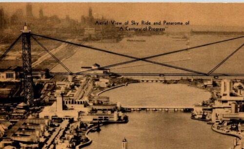 Century Of Progress Postcard 1933 Bird