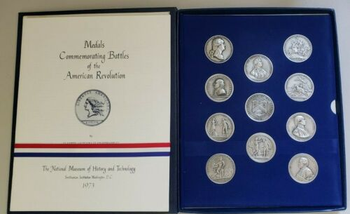 1973 11-Piece US Mint / Smithsonian Set AMERICA