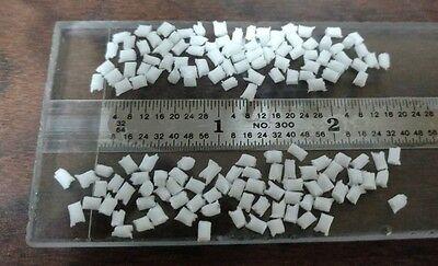 5 Lb Utraform Polyacetal Resin Plastic Molding Pellets Basf White Delrin Acetal