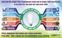 Businesses & Farmers - Upgrade Old Lighting to LED/HID 1/2 price