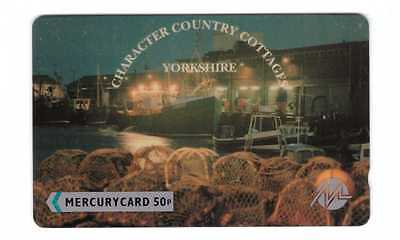 YORKSHIRE COUNTRY COTTAGES MERCURY 50P