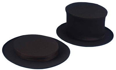 Top Hat For Kids (Morris Costumes Top Hat Collapsible Blck Child.)