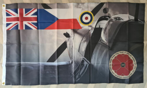 British Czechoslovak Royal Air Force Flag RAF British GB UK