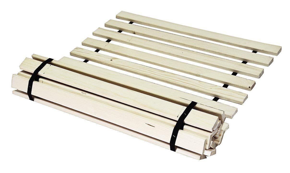 Lattenrost Rollrost Futonbett Bettrost Fichte massiv 13 Latten 19mm stark