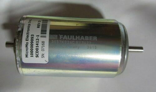 "Faulhaber German 3557K024C Magnetic DC Micro Motor (24 VDC, 5500 RPM) ""NEW"""