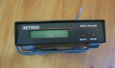 Zetron 901-9575 Hear Decoder Dtmf Touch Tone Radio Ems Ambulance Hospital