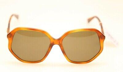 Gucci GG0258SA 002 Shiny Light Havana/Brown lens 59mm Sunglasses (#420)