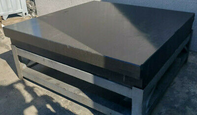 6 X 6 Granite Surface Step Plate W Stand - Inspection Plate