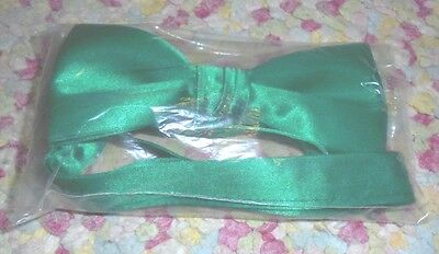 NEW SEALED Mens bow tie Green St Patricks Nerd Geek Garden chic male fashion - Nerd Bow Ties