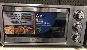Brand New Oster Turbo Convection Countertop Oven.