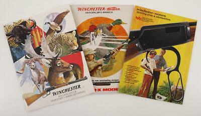 Vintage Paper Advertising Winchester Western Guns Ammunition Hunting Catalogs A