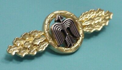 LUFTWAFFE FLYING CLASP – DAY FIGHTER – SHORT RANGE GOLD - GFR PATTERN