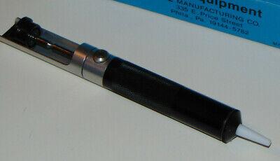 Desoldering Pump 7.5 inch 19cm Manual Empty Welding Sucker Removal Hand Tool Aluminum Plastic Silver Blue