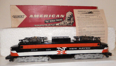 American Flyer Very Rare Brand New 21573 GE New Haven Electric OB 1958 Only