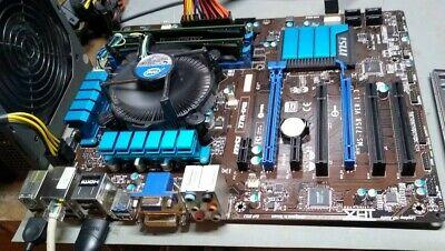 Combo MSI Z77A-G43 only - i7 3770 & intel copper heatsink - Corsair 16GB DDR3