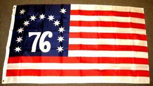 Bennington 76 Flag American Historical Banner 1776 Revolutionary War Pennant 3x5