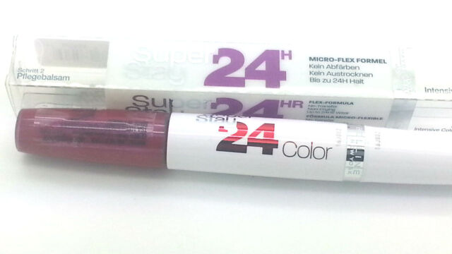 3x Maybelline SuperStay 24Hr Lipstick 290 Glowing Garnet - NEW