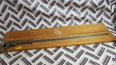 Rare Scherr-tumico 36 Steel Inoutside Tubular Micrometer In Original Wood Case