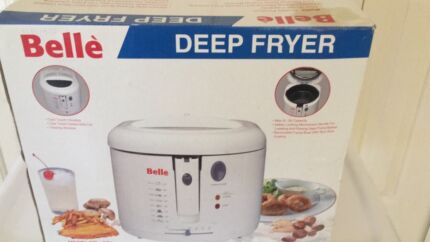 Brand new deep fryer in box