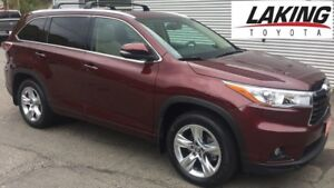 """2016 Toyota Highlander Limited AWD """"""""LUXURIOUS"""""""" 3rd ROW SEATING"""