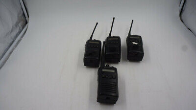 Lot Of 4 Vertex Evx-534 Two-way Radios Batteries Included