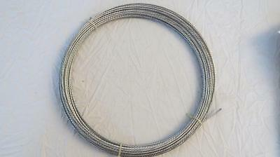 Channel Master 50' Steel Guy Wire 20 AWG/6 Strand Galvanized Antenna Mast Cable Channel Master Mast
