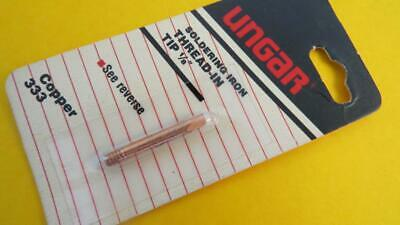 Ungar 333 Solder Soldering 18 Tip Copper Chisel Thread In 535s 1235s 4035s