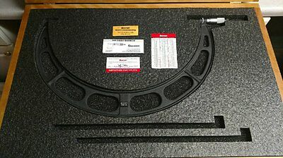 Starrett Outside Micrometer 375-400 Mm . 436mxrlz-400  New  Metric