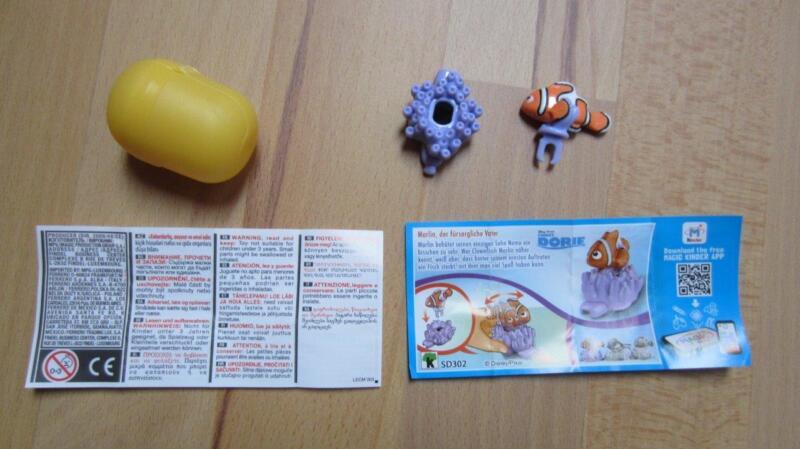 SD302 Marlin Findet Dorie Disney (1)Überraschungsei Kinder Überraschung Ü-Ei ÜEi