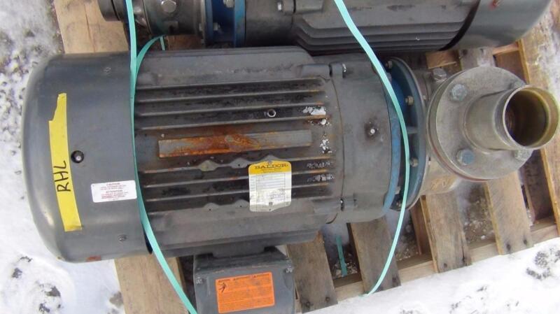 G&L Pumps 22SH1P5G0 Pump on Baldor JMM4 25HP 3525rpm Motor  - Good Condition