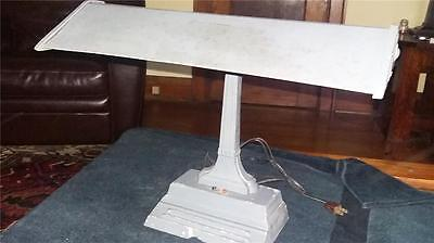 1920s ART DECO/INDUSTRIAL CAST DESK/TABLE  BANKERS LAMP..NOT THE CHEAP JUNK