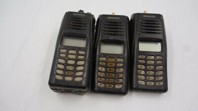 Lot Of 3 Nexedge Vhf Two-way Radio Only 1x Battery