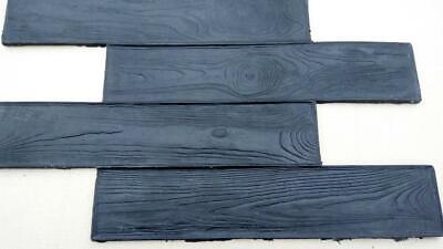 Stone Decorative Deck Concrete Cement Imprint Texture Stamp Mat Silicone